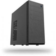 Chieftec skříň Elox Series HC-10B, Miditower, USB 3.0, Black with Hair brush design front panel