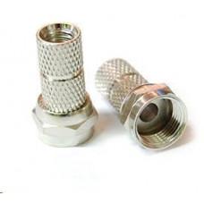 Belden Konektor F pro koaxiální kabel o průměru 5mm, balení 100ks