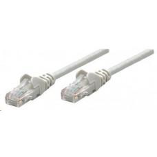 Intellinet patch kabel, Cat5e Certified, CU, FTP, PVC, RJ45, 0.25 m, šedý