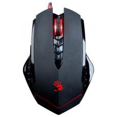 A4Tech BLOODY V8 herní myš, až 3200DPI, V-Track technologie, 160KB paměť, USB, CORE 2, kovové