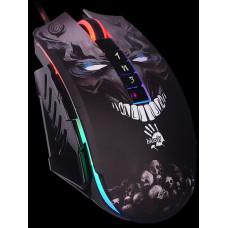 A4Tech BLOODY P85, herní myš, 5000DPI, USB, SKULL, Core 3