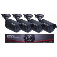 Evolveo Detective D04 FHD, NVR kamerový systém
