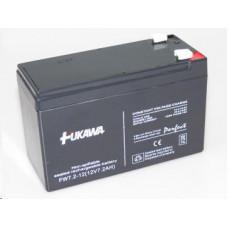 FUKAWA Baterie - FUKAWA FW 7,2-12 F1U (12V/7,2 Ah - Faston 187), konektor - 4.8mm, životnost 5let