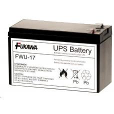 FUKAWA Baterie - FUKAWA FWU-17 náhradní baterie za RBC17 (12V/9Ah), životnost 3-5let