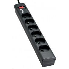 Eaton Protection Strip 6 FR, přepěťová ochrana, 6 zásuvek, 1m