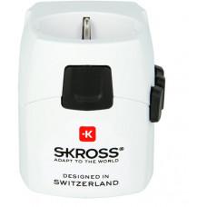 SKROSS PRO Light USB cestovní adaptér EU do světa
