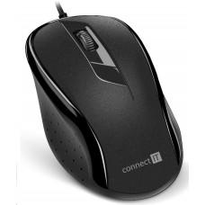 Connect IT Optická myš, USB, černá