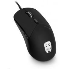 Connect IT ANONYMOUSE optická herní myš, černá