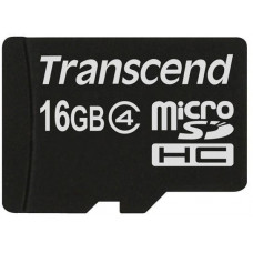 Transcend Micro SDHC Class 4 16GB (bez adaptéru)
