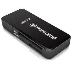 Transcend Card Reader F5, USB 3.0, Black
