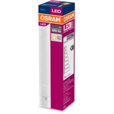 LEDVANCE OSRAM LED DULUX D   230V 7W 830 G24d-2 noDIM A+ Plast matný 0lm 3000K 30000h (krabička
