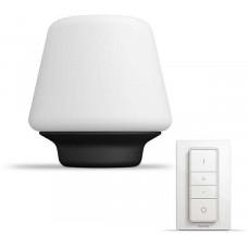 Philips Wellness Stolní svítidlo, Hue White ambiance, 230V, 1x9.5W E27, Černá