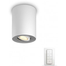 Philips Pillar Bodové svítidlo, Hue White ambiance, 230V, 1x5.5W GU10, Bílá