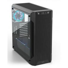 SilentiumPC skříň MidT Armis AR7 TG RGB Black / 2x USB 3.0 /3x 120mm fan /bočnice z tvrzeného skla
