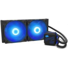 SilentiumPC vodní chladič Navis RGB 280 AiO / 2x140mm fan / 22dBA / pro AM3, AM4, LGA 2066, 2011