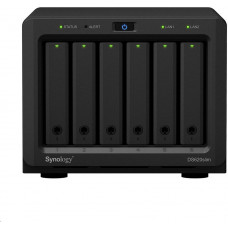 Synology DS620slim DiskStation (2C/CeleronJ3355/2-2,5GHz/2GBRAM/6xSATA/2xUSB3.0/2xGbE)