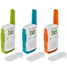 Motorola vysílačka TLKR T42 (3 ks, dosah až 4 km), Triple Pack