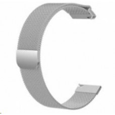 Eses milánský tah stříbrný pro samsung galaxy watch 46mm/samsung gear s3/huawei watch 2