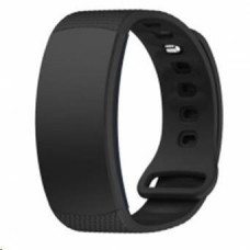 Eses silikonový řemínek černý ve velikosti l pro samsung gear fit 2/gear fit 2 pro