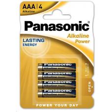 Panasonic Alkalické baterie Alkaline Power LR03APB/4BP  AAA 1,5V (Blistr 4ks)