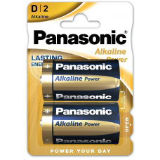 Panasonic Alkalické baterie Alkaline Power LR20APB/2BP D 1,5V (Blistr 2ks)