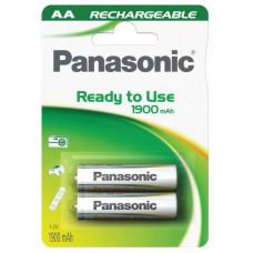 Panasonic Nabíjecí baterie (Ready to Use - pro Časté použití) HHR-3MVE/2BC   1900mAh AA 1,2V