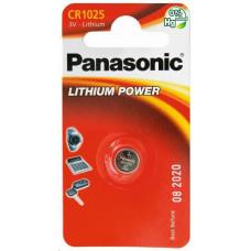 Panasonic Lithiová baterie (knoflíková) CR-1025EL/1B  3V (Blistr 1ks)