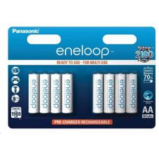 Panasonic eneloop Nabíjecí Baterie AA 1900mAh 1,2V  HR-3UTGB-8BP (PP) (Blistr 8ks)