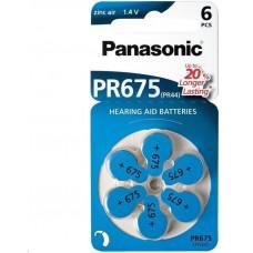 Panasonic Zinkovzduchová baterie PR-675(44)/6LB AA 1,2V (Blistr 4ks)