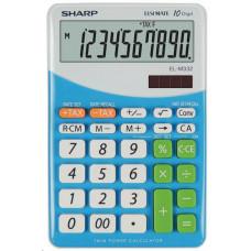 Sharp kalkulačka - EL-M332BBL - modrá