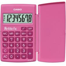 Casio kalkulačka LC 401 LV PK - pink, školní kalkulátor