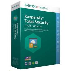 Kaspersky Lab Kaspersky Total Security 2019 CZ multi-device, 1 zařízení, 2 roky, nová licence