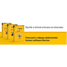 NortonLifeLock NORTON SECURITY STANDARD CZ  1 uživatel na 1 zařízení na 2 roky ESD