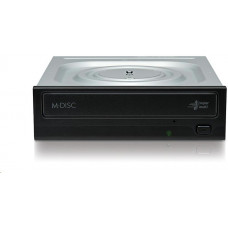 LG HITACHI LG - interní mechanika DVD-W/CD-RW/DVD±R/±RW/RAM/M-DISC GH24NSD6, Black, box+SW