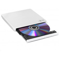 LG HITACHI LG - externí mechanika DVD-W/CD-RW/DVD±R/±RW/RAM GP60NW60, Slim, White, box+SW