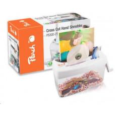 Peach Cross Cut Hand Shredder PS300-21 / skartovač