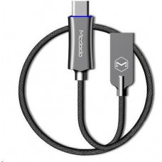 Mcdodo Knight Series Auto Disconnect Type-C Data Cable with Quick Charge 1.5m Grey
