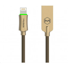 Mcdodo Knight Series Auto Disconnect USB AM To Lightning Data Cable (1,8 m) Gold
