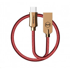 Mcdodo Knight Series USB AM To Type-C Data Cable (1.5 m) Red