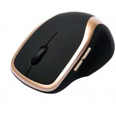 Connect IT Bezdrátová laserová myš WM2200 černo-zlatá