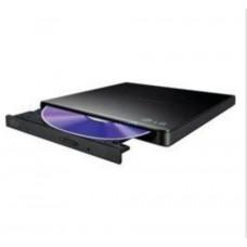 LG HLDS (HITACHI-LG) DVD±RW GP57EB SLIM external černá USB 2.0, 8xDVD±RW, 5xDVD-RAM, black, slim