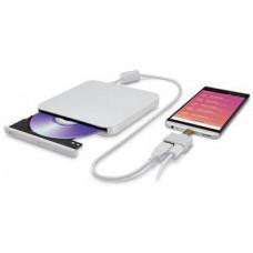 LG HLDS (HITACHI-LG) DVD±RW GP95NW70 pro ANDROID external bílá USB 2.0, 8xDVD±RW, 5xDVD-RAM, white