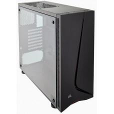 CORSAIR SPEC-05 Black + RED LED, černá+červená Midi-Tower ATX PC Gaming Case, USB2+USB3, bez zdroje
