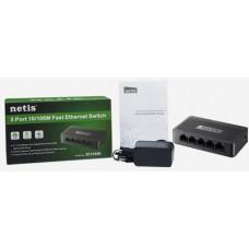 NETIS ST3105S 5xTP 10/100Mbps 5port switch mini size