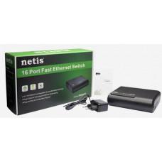 NETIS ST3116P 16xTP 10/100Mbps 16port switch
