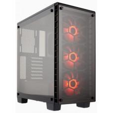 CORSAIR Crystal Series 460X RGB Compact ATX Mid-Tower Case černý ATX PC Case bez zdroje, 2x USB3