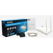 NETIS WF2419E wifi 300Mbps AP/router, 4xLAN, 1xWAN ,2x fixní antena 5dB(náhrada WF2409E)