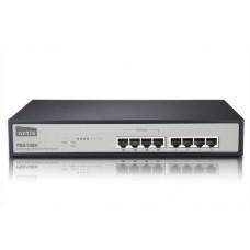 NETIS PE6108H 8x LAN/4xPOE 10/100Mbps POE 8port switch rack kovový 62W