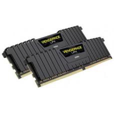 CORSAIR 16GB=2x8GB DDR4 2400MHz VENGEANCE LPX BLACK PC4-19200 1.2V CL16-16-16-39 XMP2.0 (16GB=kit