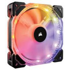 CORSAIR HD140 RGB LED ventilátor PWM - 140x25mm (1 ks v balení, řízené LEDky, bez řadiče)